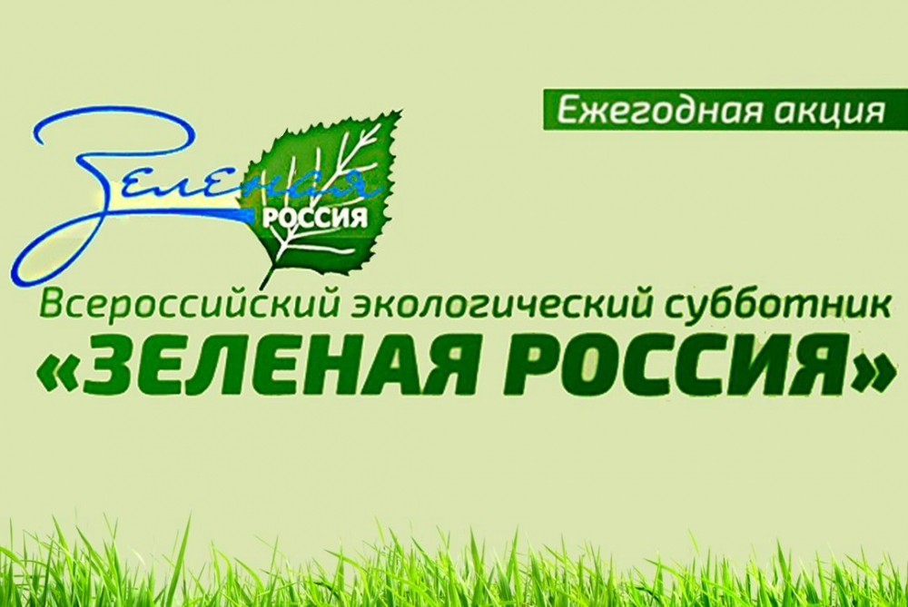 Субботник зеленая россия 2018 когда